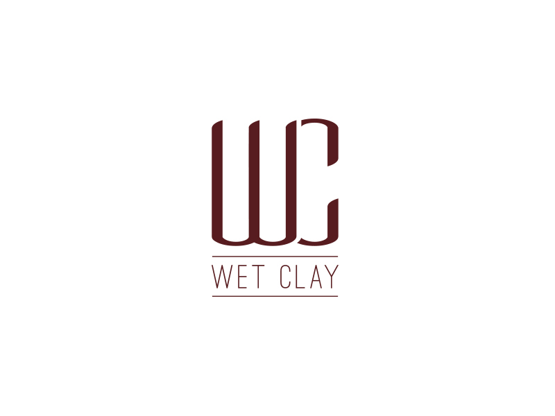 Wet Clay Logo Design