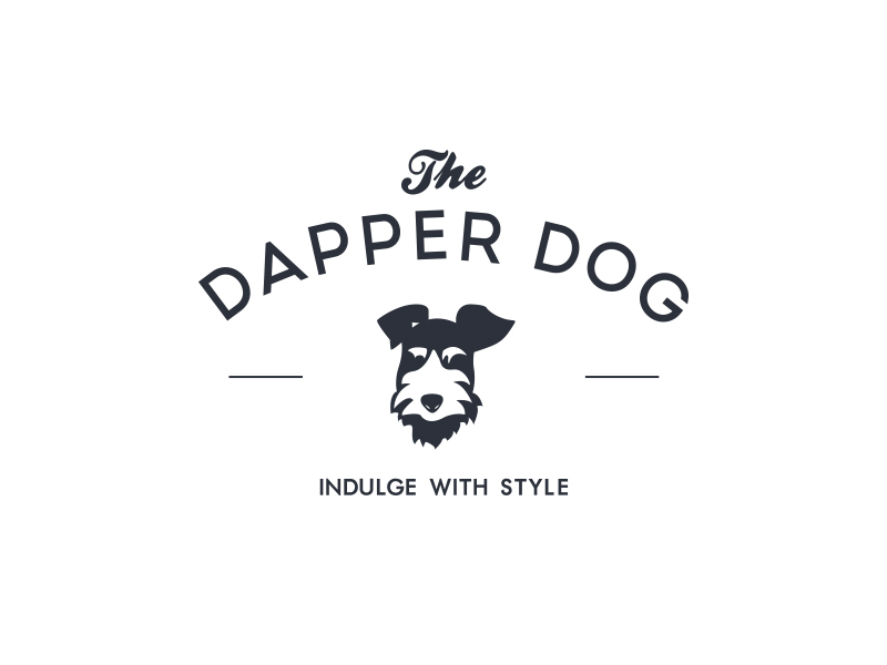 The Dapper Dog Logo Design