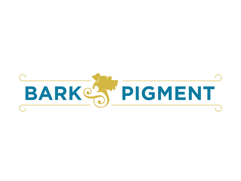 Bark & Pigment Logo Design