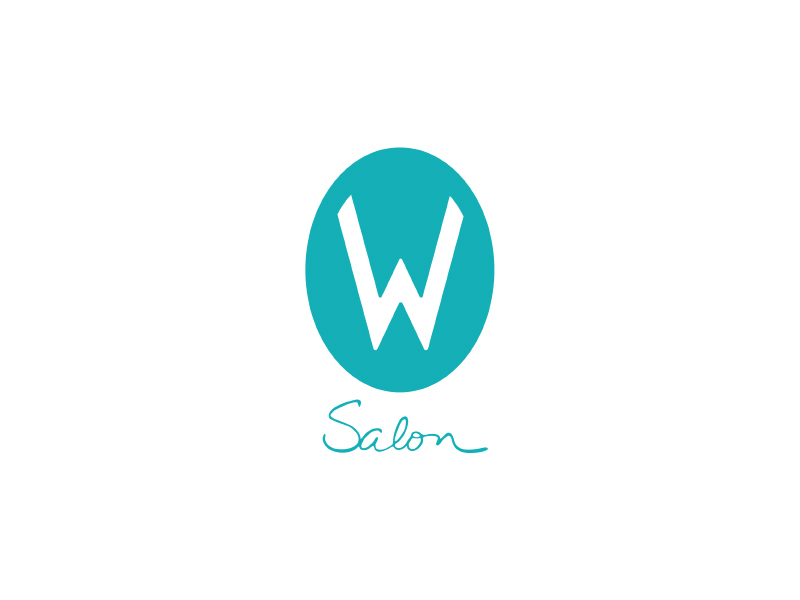 W Salon Logo Design