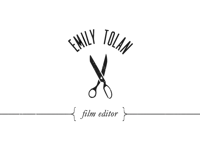 Film Editor Logo Design