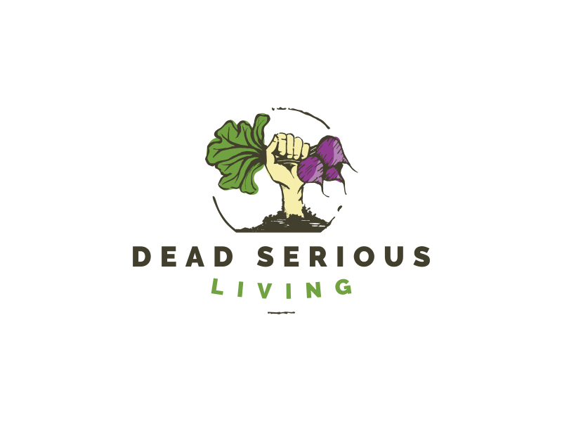 Dead Serious Living Logo Design
