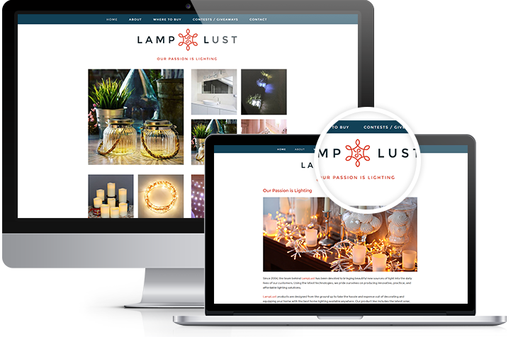 Lamp Lust - Atlanta Branding & Website Design | Squarespace