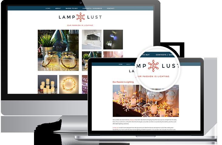 Lamp Lust - Atlanta Branding & Website Design | Squarespace