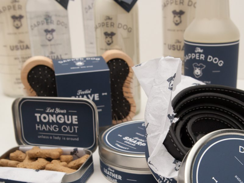 The Dapper Dog - Branding & Packaging Design