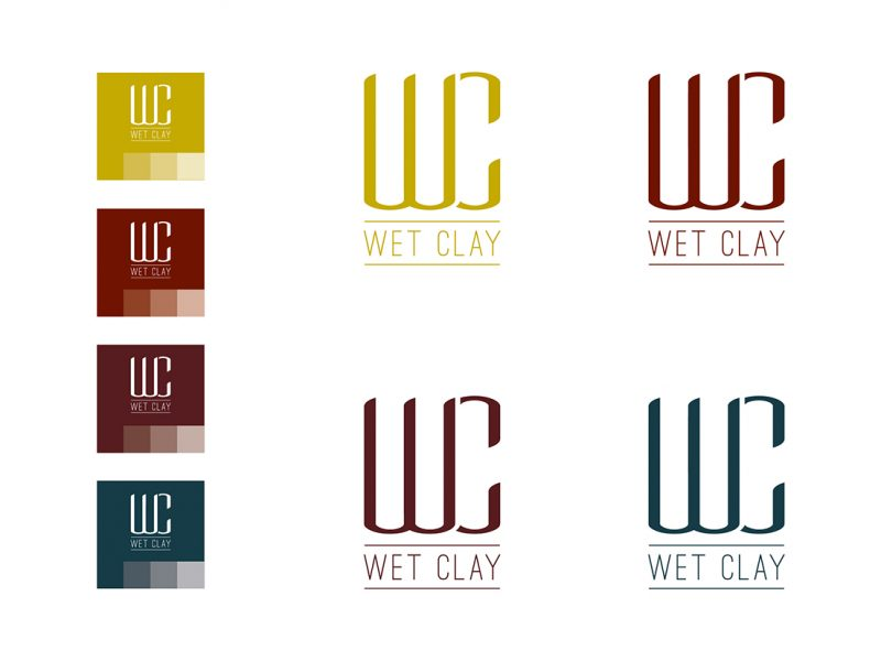 Wet Clay - Atlanta Logo Design and Branding