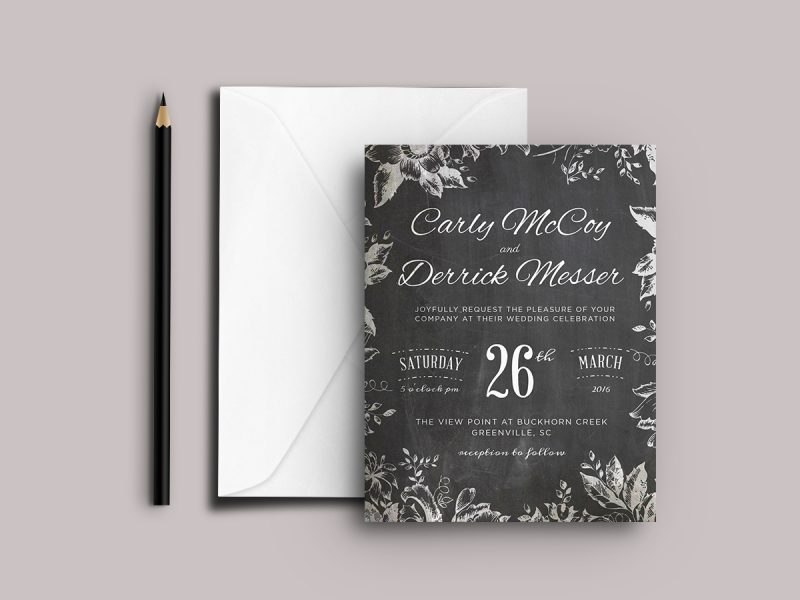 Wedding Invitation Design - Atlanta Print Design | Atlanta Graphic Design | Atlanta Wedding Invitation Design