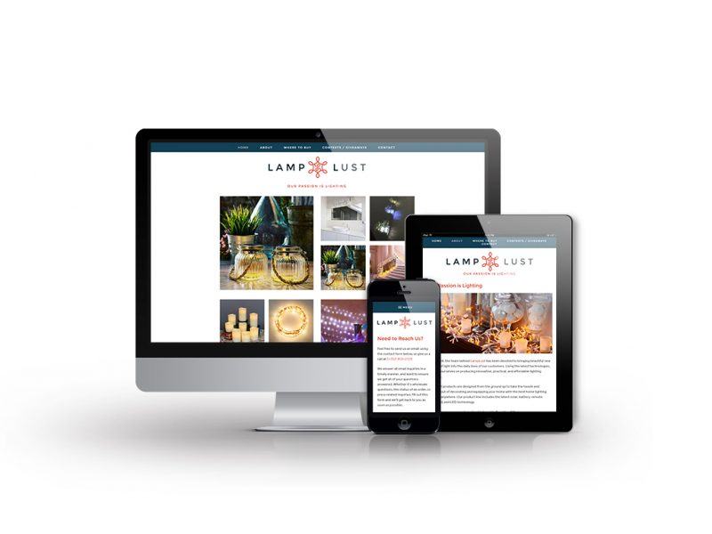 Lamp Lust - Atlanta Web Design | Squarespace Design